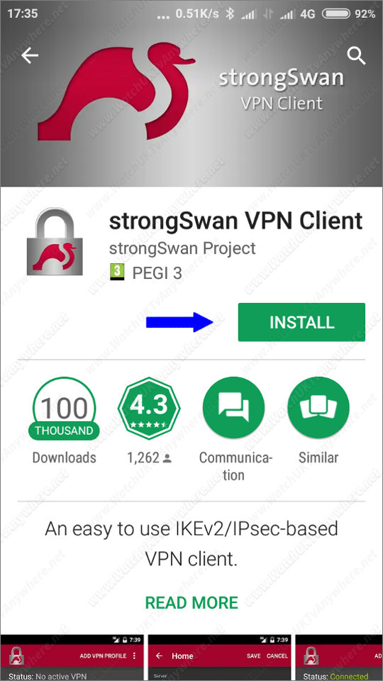 Watch UK TV Abroad Anywhere - VPN Setup Guide - Android