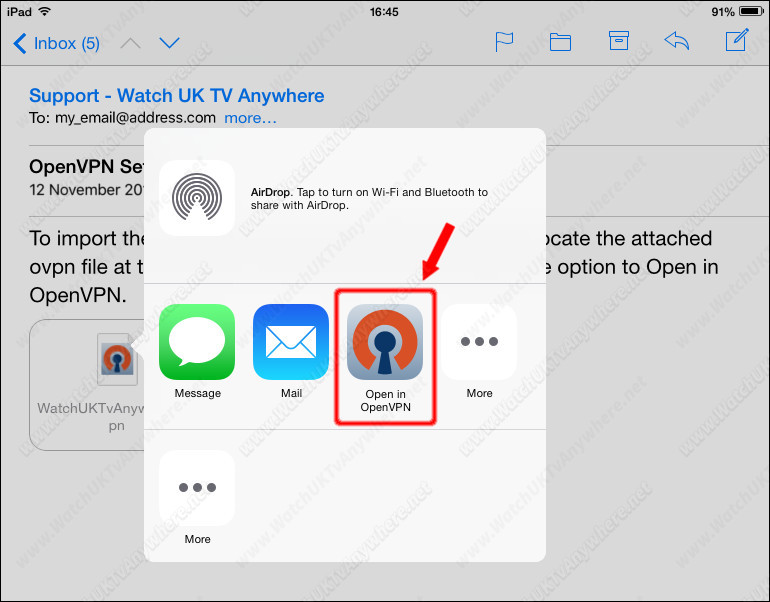 Watch UK TV Abroad Anywhere - VPN Setup Guide - iPad