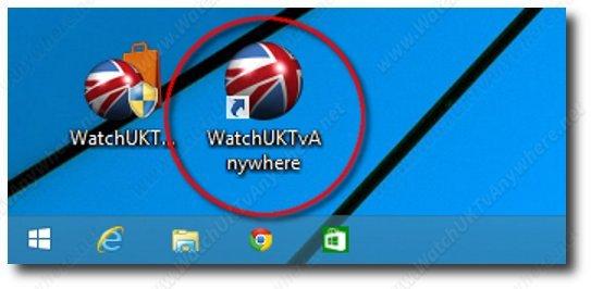WatchUKTvAnywhere Desktop icon